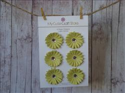 Paper Flowers: Light Citrine