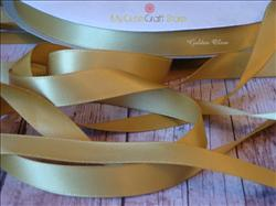 Ribbon by the Yard: Golden Olive