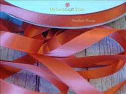 Ribbon by the Yard: Mandarin Orange