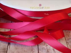 Ribbon by the Yard: Ruby